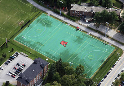 The Bates College All Sports Field Print by Dave Cleaveland