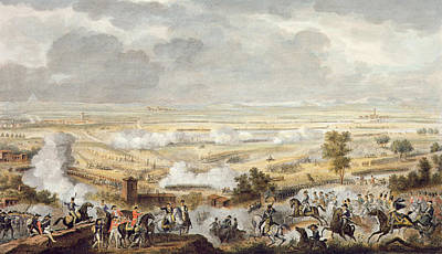 The Battle Of Marengo, 23 Prairial Print by Antoine Charles Horace Vernet