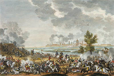 The Battle Of S. Giorgio Di Mantova, 29 Print by Antoine Charles Horace Vernet