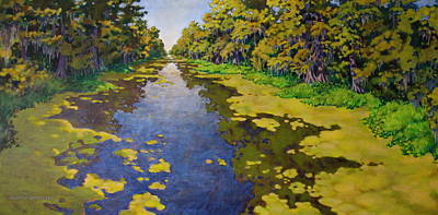 The Bayou Print by Andrew Danielsen