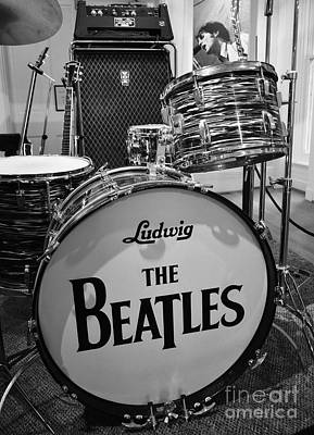 Lennon Photograph - The Beat Goes On by Mel Steinhauer