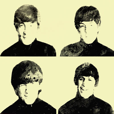 The Beatles 1b Print by Brian Reaves