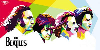 The Beatles Original by Bryan Lomi