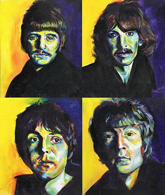 The Beatles Original by Charles  Bickel