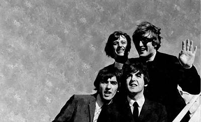 Ringo Starr Photograph - The Beatles In The Usa by Florian Rodarte
