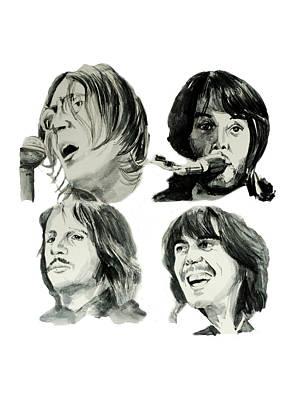 The Beatles Print by Bekim Art