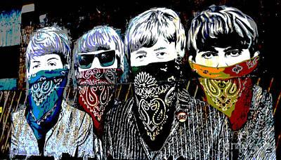 Ringo Photograph - The Beatles by RicardMN Photography