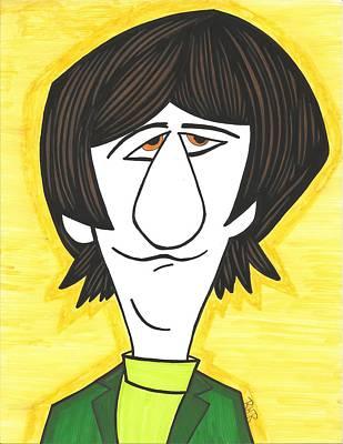 Ringo Painting - The Beatles Ringo S. by Ray Ratzlaff