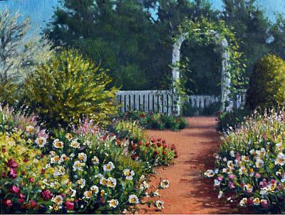 The Beautiful Garden Original by Rick Hansen
