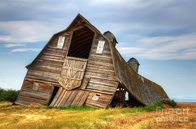 Alberta Landscape Photograph - The Beauty Of Barns  by Bob Christopher