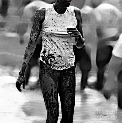 The Beauty Of Mud  Print by Steven  Digman