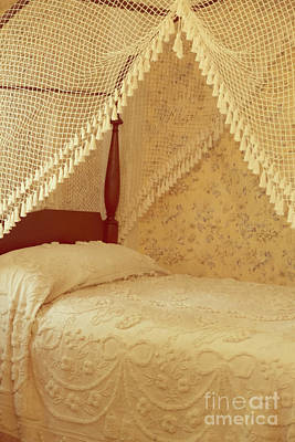 The Bedroom Print by Edward Fielding