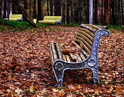 Babushka Photograph - The Bench  by Brian Orlovich