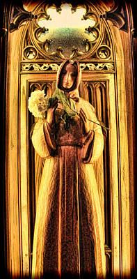 The Benedictine Monk Print by Lee Dos Santos