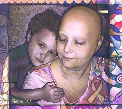 Multi-color Digital Art - The Best Medicine by Teleita Alusa