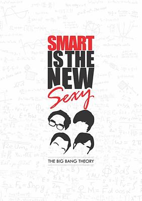 The Big Bang Theory Typography Print Inspirational Quotes Poster Print by Lab No 4 - The Quotography Department