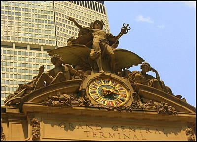 The Big Clock At Grand Central Station - New York City Original by Dora Sofia Caputo Photographic Art and Design