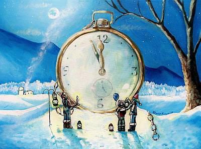 The Big Countdown Print by Shana Rowe Jackson