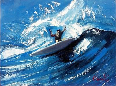 The Big Wave Original by Maurizio Lucarelli