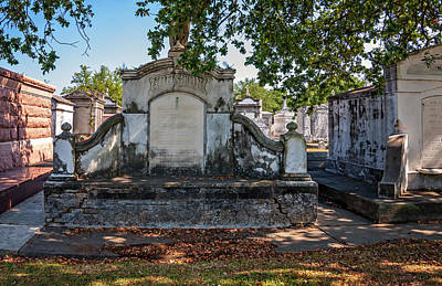 Metairie Cemetery Photograph - The Biggest Easy by Steve Harrington
