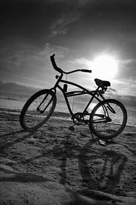 Beach Cruiser Photograph - The Bike by Peter Tellone