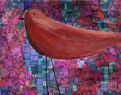 The Bird - 23a01a Print by Variance Collections
