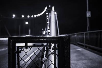 Doppelganger Photograph - The Bridge by Alex Land