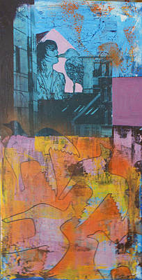 The Birdkiss Print by Sanne Rosenmay