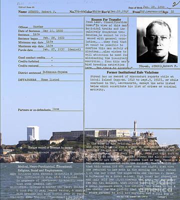 The Birdman Of Alcatraz San Francisco 20130323v2 Print by Wingsdomain Art and Photography