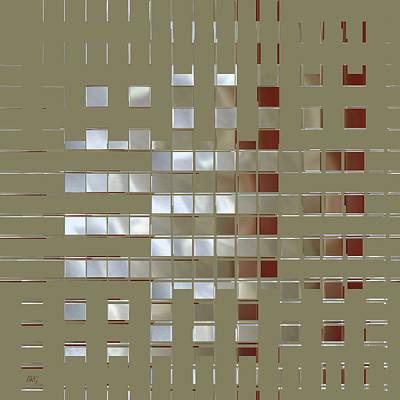The Birth Of Squares No 1 Original by Ben and Raisa Gertsberg