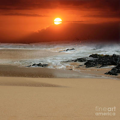 The Beauty Of Nature Photograph - The Birth Of The Island by Sharon Mau