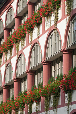 The Bischofshof Hotel Regensburg Print by Michael Defreitas