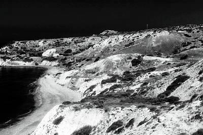 Greek School Of Art Photograph - The Black Coast by John Rizzuto