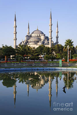 The Blue Mosque Sultanahmet Istanbul Print by Robert Preston