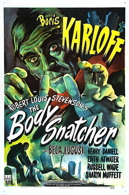 The Body Snatcher Print by MMG Archives