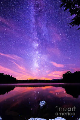 The Bold And Beautiful Milky Way Print by Robert Loe