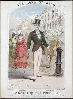 The Bond St. Beau Print by British Library