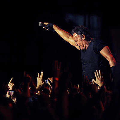 Bruce Springsteen Photograph - The Boss 1 by Rafa Rivas