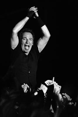 Bruce Springsteen Photograph - The Boss 12 by Rafa Rivas