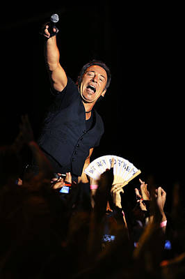 Bruce Springsteen Photograph - The Boss 14 by Rafa Rivas