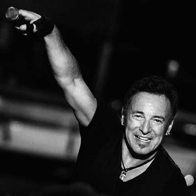 Bruce Springsteen Photograph - The Boss 15 by Rafa Rivas