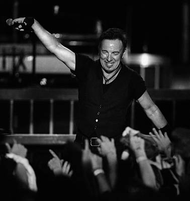 Bruce Springsteen Photograph - The Boss 16 by Rafa Rivas