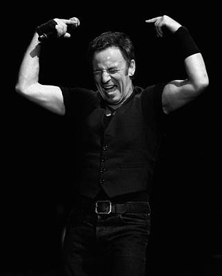 Bruce Springsteen Photograph - The Boss 18 by Rafa Rivas