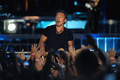 Bruce Springsteen Photograph - The Boss 20 by Rafa Rivas