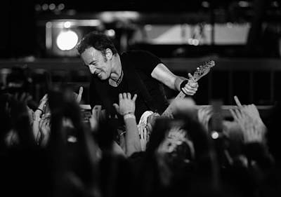 Bruce Springsteen Photograph - The Boss 21 by Rafa Rivas