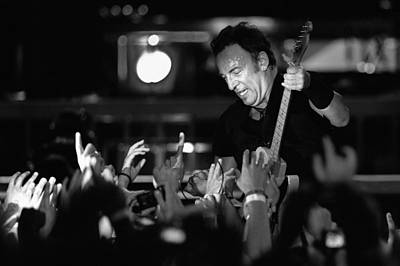 Bruce Springsteen Photograph - The Boss 23 by Rafa Rivas