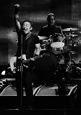 Bruce Springsteen Photograph - The Boss 28 by Rafa Rivas