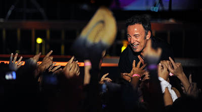 Bruce Springsteen Photograph - The Boss 3 by Rafa Rivas