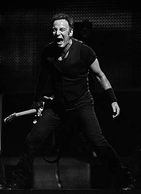 Bruce Springsteen Photograph - The Boss 30 by Rafa Rivas