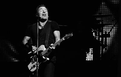 Bruce Springsteen Photograph - The Boss 32 by Rafa Rivas